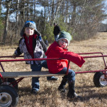 Yes, these wagons are made for riding, too