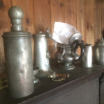I found a stash of antique pewter