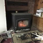 A new wood stove