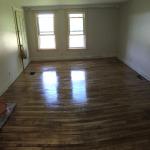 Three days to sand this floor